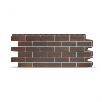 Фасадная панель BERG (Коричневый) 0,461*1,127м 0,44кв.м. 0,51кв.м. 1/10