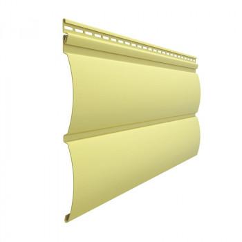 Сайдинг БлокХаус (Лимон) 3,6м*243мм ,0,87кв.м. 1/20