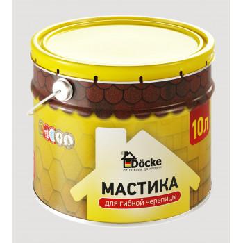 Мастика для гибкой черепицы Docke10 л (9кг)