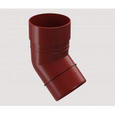 Колено (красный) 80 мм*45° 1/24