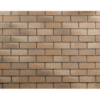 Фасадная плитка  Кирпич ТЕХНОНИКОЛЬ HAUBERK (песчаный кирпич)