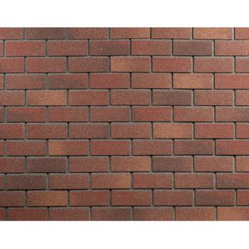 Фасадная плитка  Кирпич ТЕХНОНИКОЛЬ HAUBERK (терракотовый кирпич)