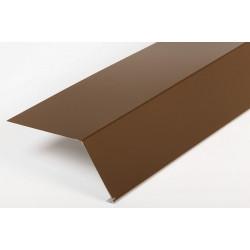 Карнизная планка шоколад (RAL 8017)