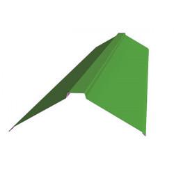 Конек фигурный зеленый (RAL 6002)