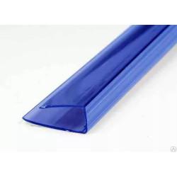 Торцевой профиль синий