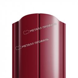 Штакетник цвет красное вино (RAL 3005)