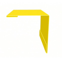 Планка наружного угла желтый (RAL 1018)