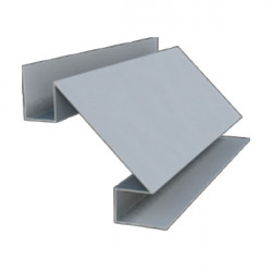 Угол внутренний сложный серый (RAL 7004)