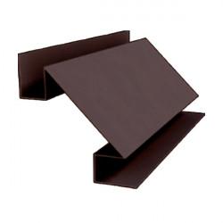 Угол внутренний сложный коричневый (RAL 8017)