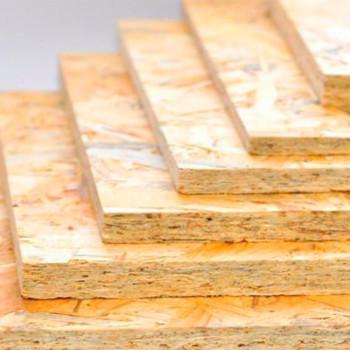 ОСБ, фанера, древесно-плитные материалы